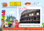 Rome, Italy (en) - (3) Grab your Teddy Bear, and let's go to the Colosseum!