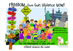 X-tra! Freedom from Gun Violence Now! (en) - Heckery Dekkery Kids are against Gun Violence!